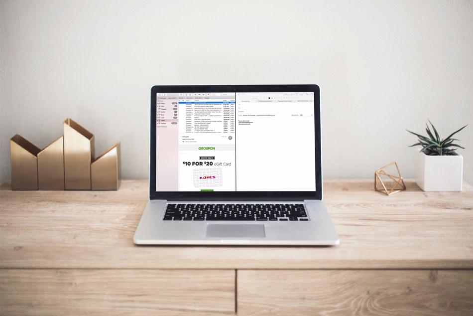 Mail Split View Macbook