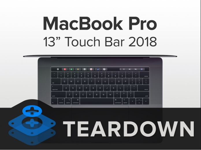 2018 Macbook Pro teardown