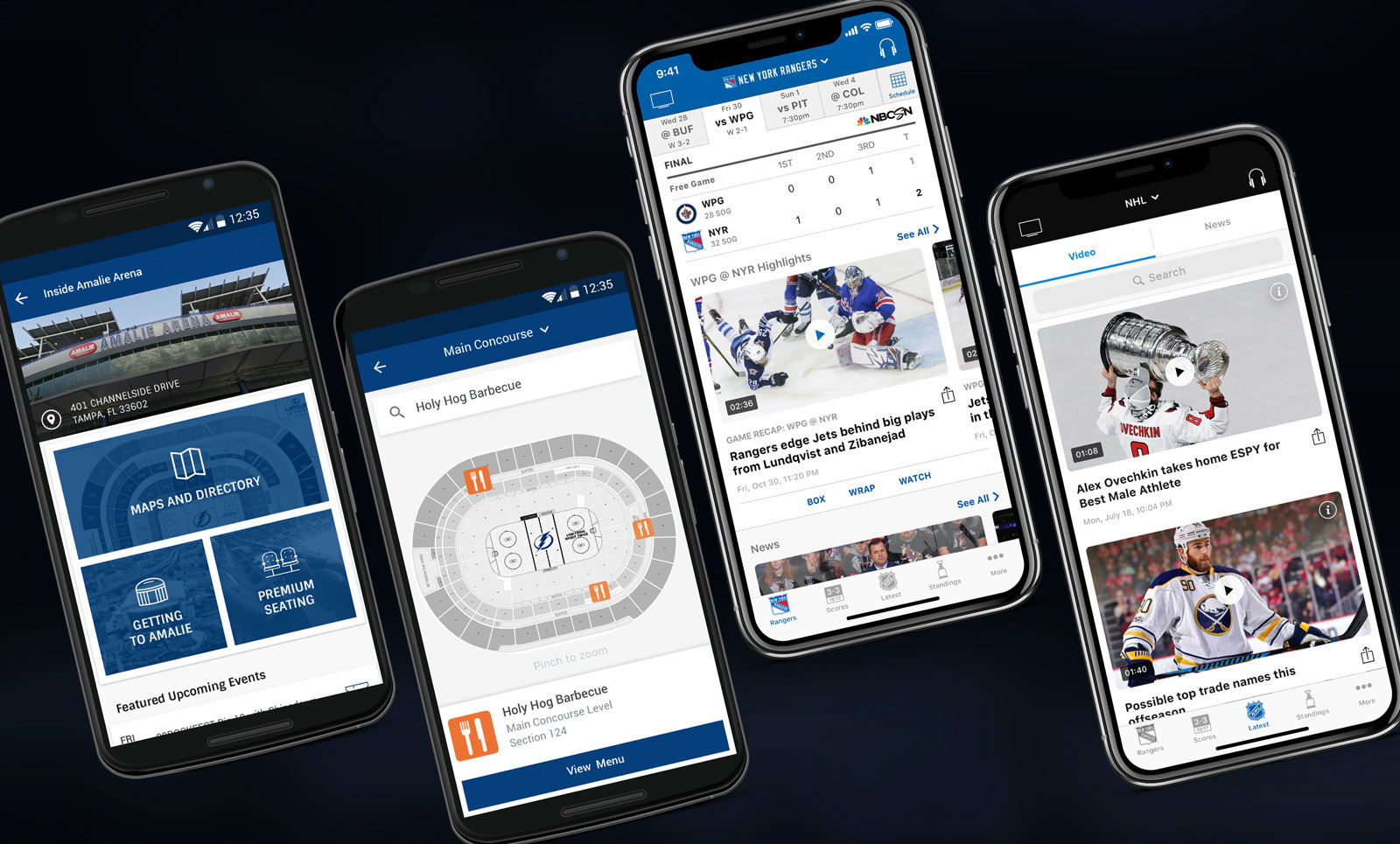 NHL for iPhone app - new features