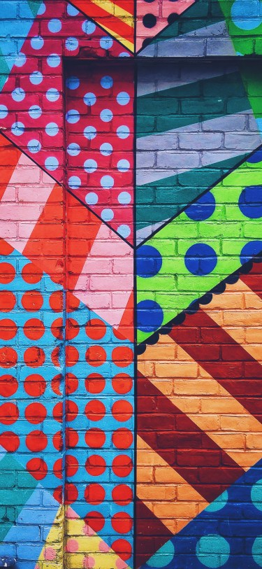city brick spray paint graffiti JFL 6 iphone wallpaper