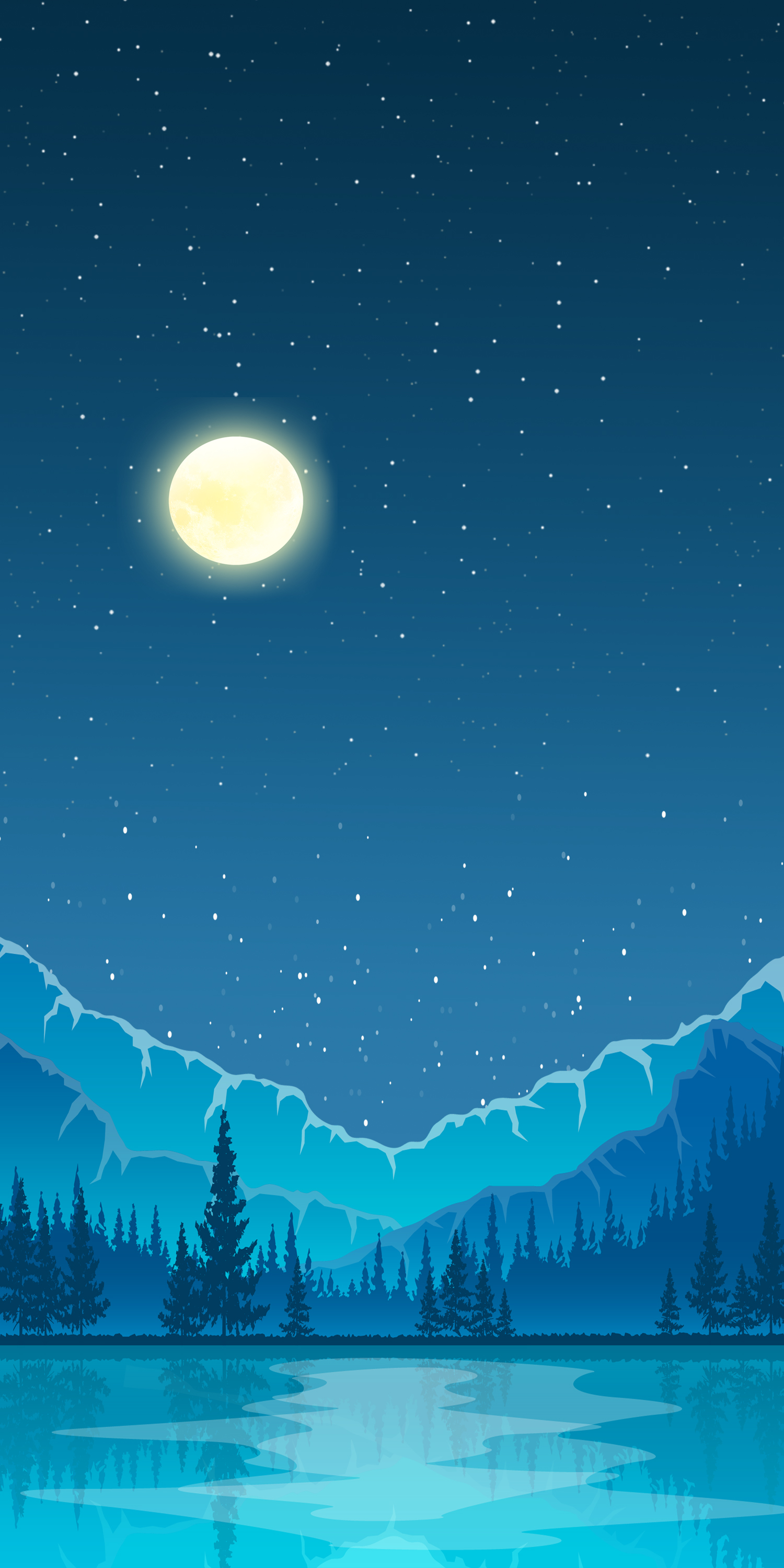 snowy wallpaper illustrations for