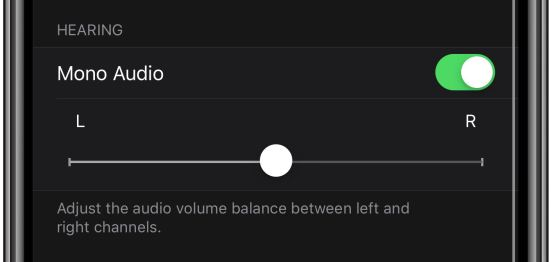 how to enable AirPods mono audio on Apple Watch