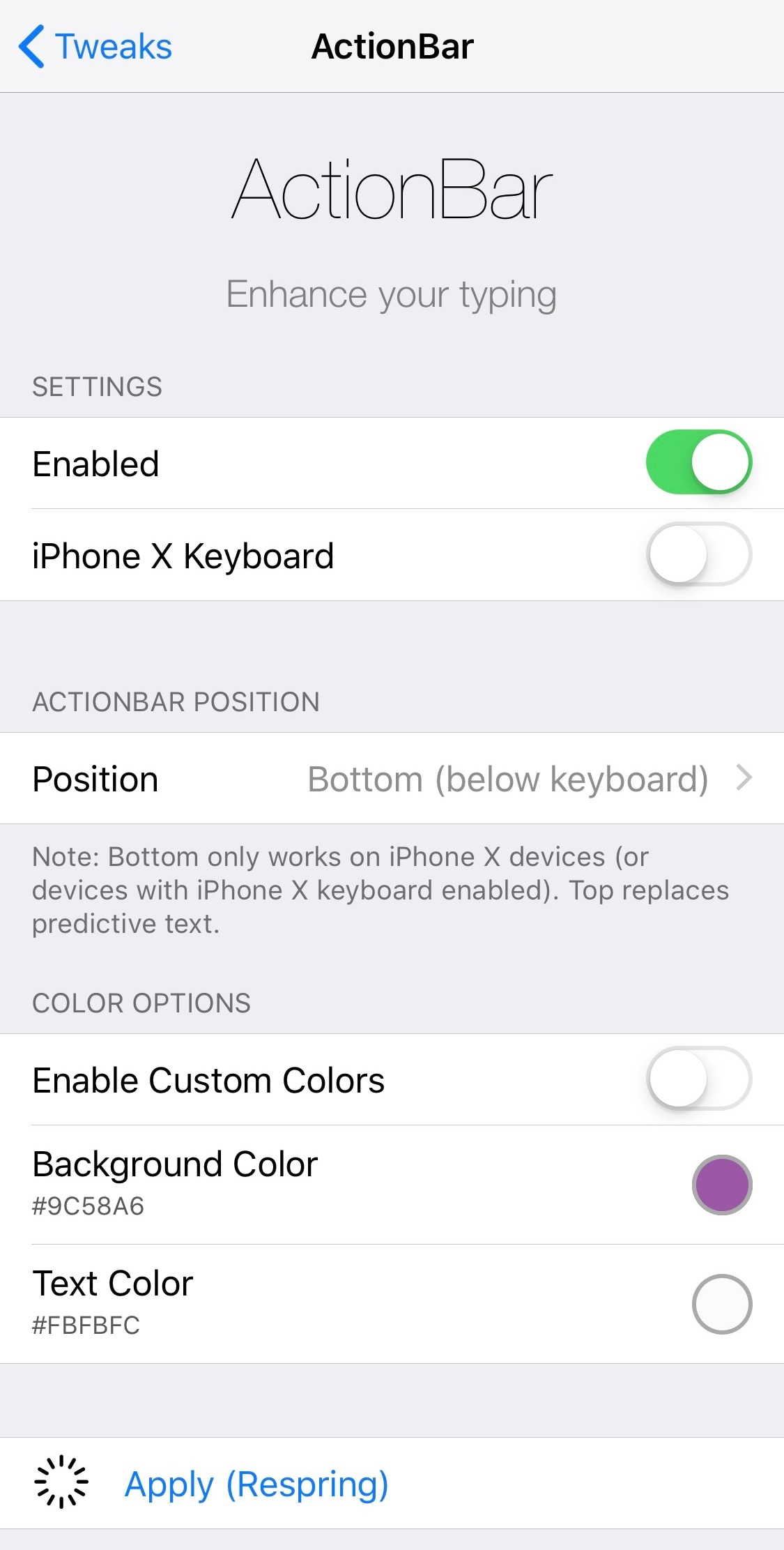 Actionbar Brings A Modernized Text Editing Interface To