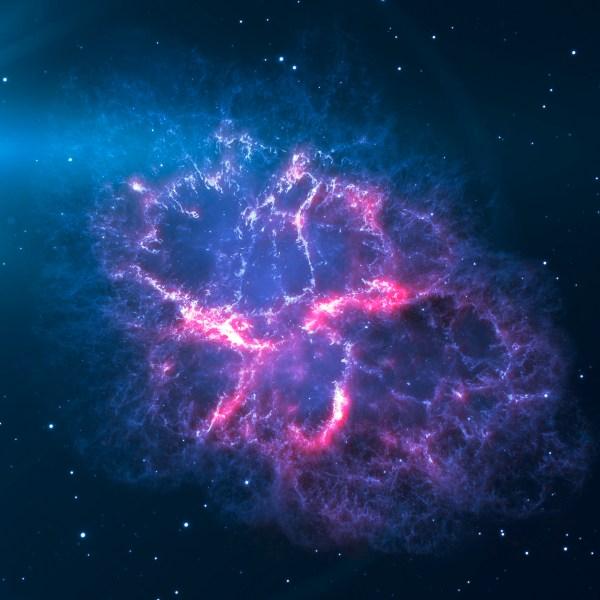space-astronomy-galaxy-dark-purple-star-flare-ipad-pro