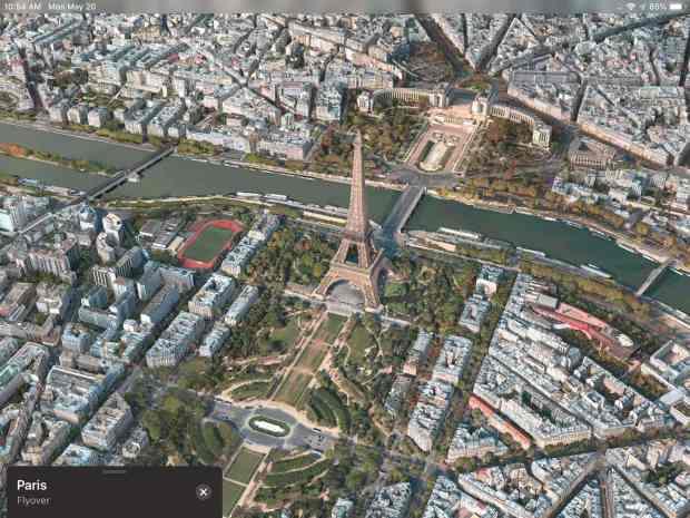 Apple Maps Flyover Paris Featured