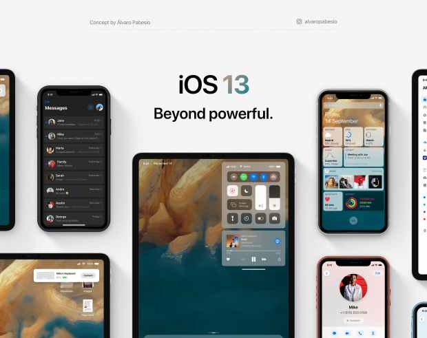 iOS concept art envisions productivity