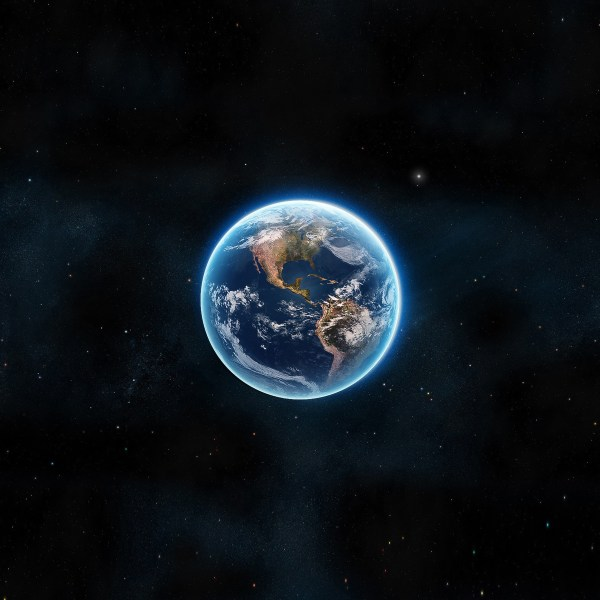 earth-view-from-space-satellite-illust-art-ipad-pro wallpaper