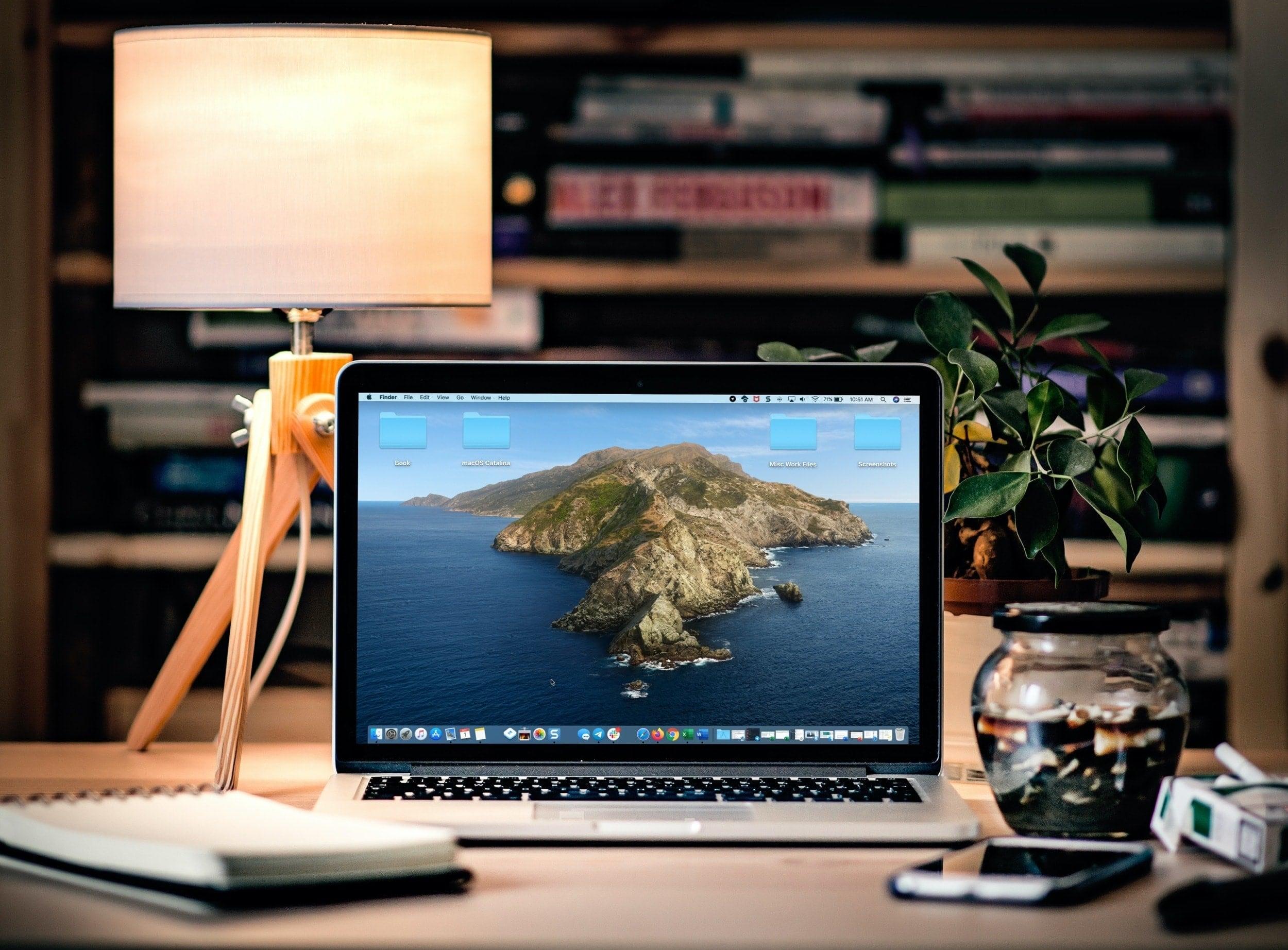 Организация рабочего стола Mac - MacBook