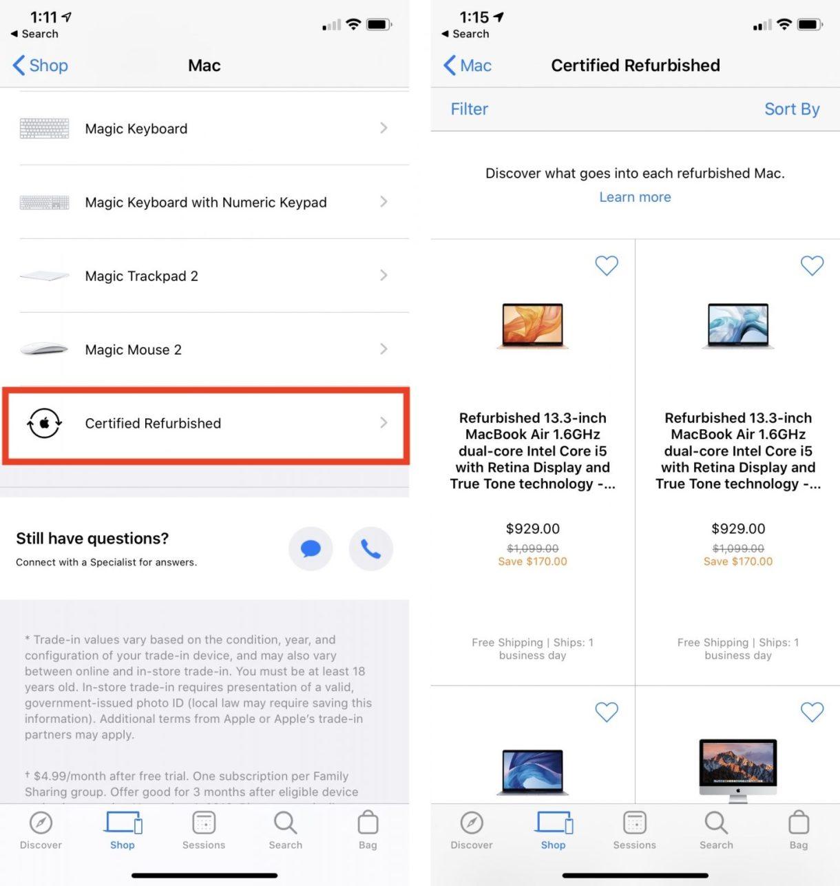 apple store refurb 1457x1536 - منتجات آبل المجددة أفضل طريقة لتوفير المال إذا فاتتك عروض البلاك فرايداي