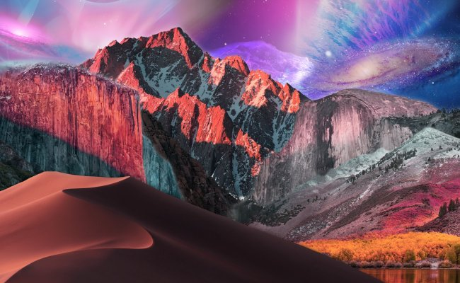 Every Mac Wallpaper From Cheetah To Catalina Combined