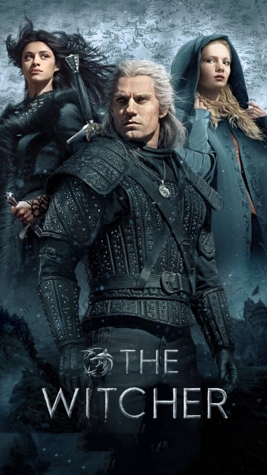 The Witcher iPhone wallpaper idownloadblog Geralt Yennifer Ciri