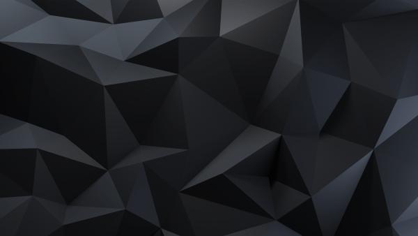 MetallicBlackByArthur1992aS Polygon wallpaper desktop