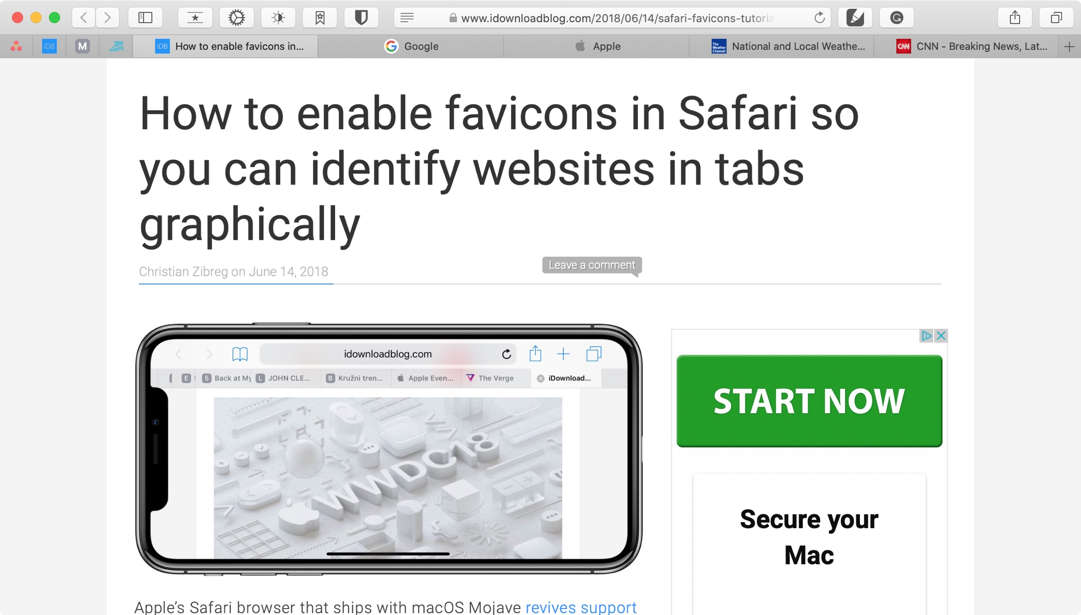 How To Refresh Favicons In Safari On Mac To Get Website