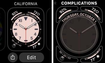 Edit Apple Watch Face Complications