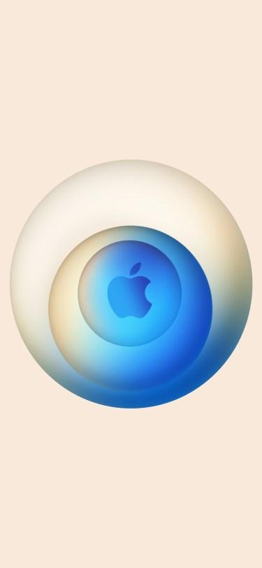 Hi Speed wallpapers Apple Event October 2020 iDownloadBlog iPhone 9techeleven inverted blue