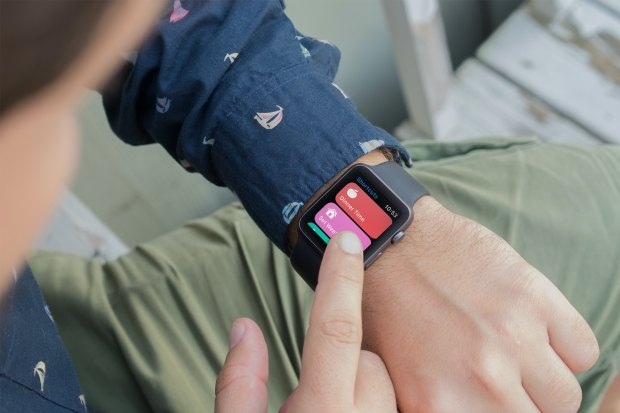 Run Shortcut on Apple Watch