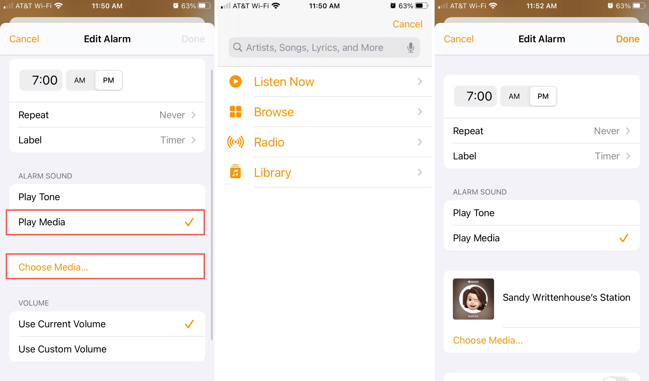 Đặt Apple Music làm Âm thanh báo thức HomePod