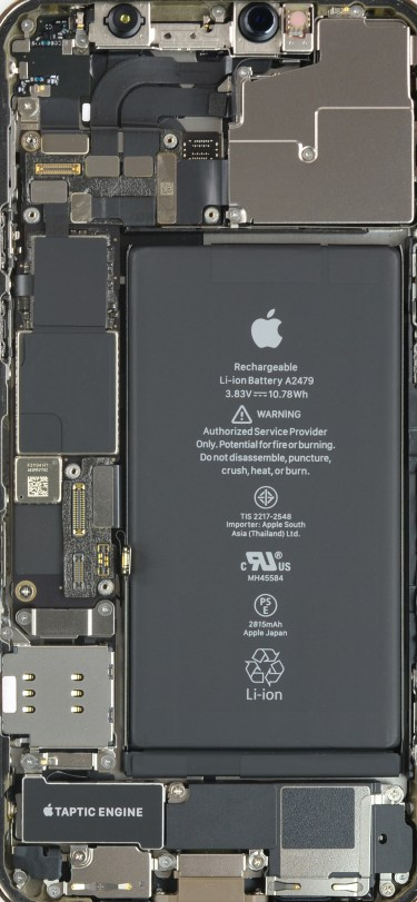 iPhone 12 Pro Teardown Internals Wallpaper ifixit idownloadblog