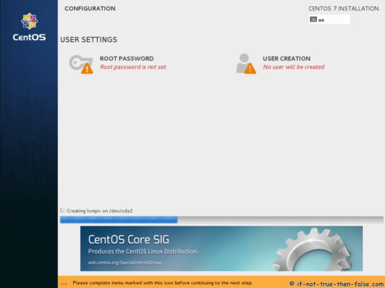 CentOS 7.5 Mengkonfigurasi Pengaturan Pengguna