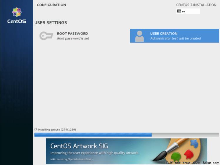 Paket Instalasi 7.5 CentOS