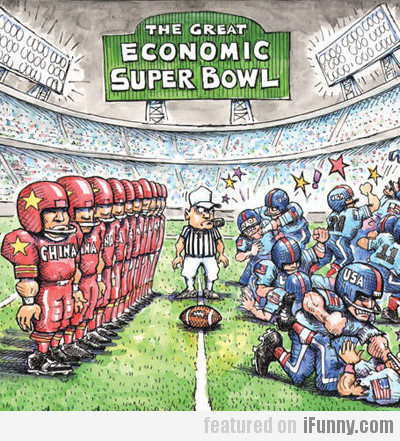 The Great Economic Super Bowl