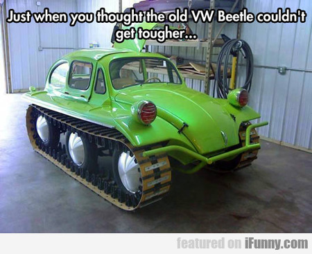 Just When You Thought The Old Vw Beetle...