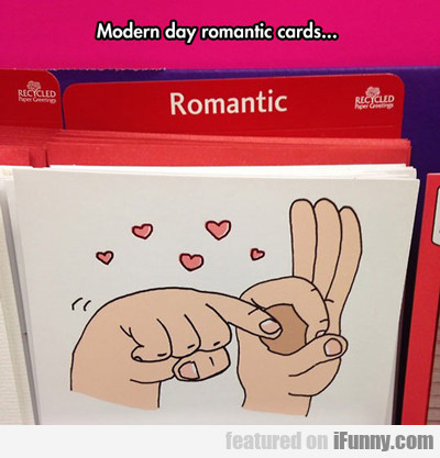 Modern Day Romantic Cards...