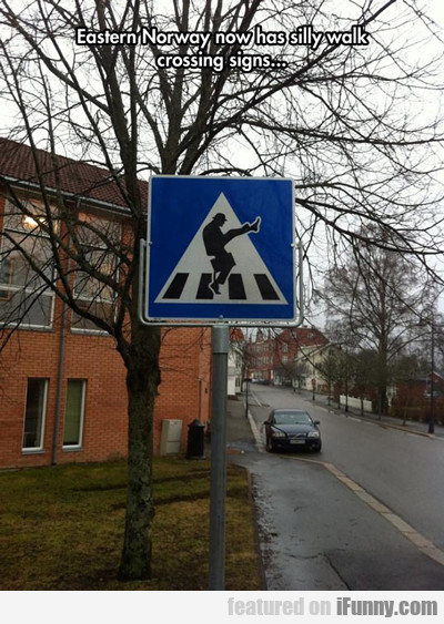 Eastern Norway Now Has Silly Walk Crossing...