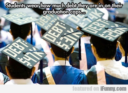 Students Wear How Much Debt...
