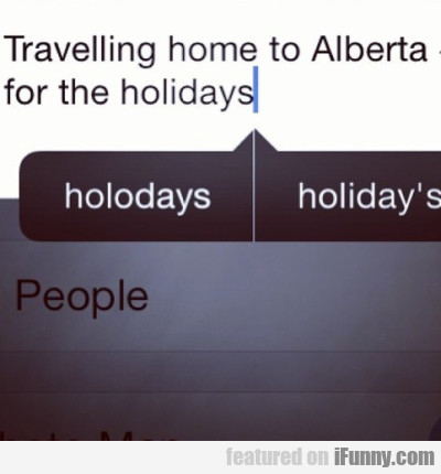 Travelling Home To Alberta For The Holidays