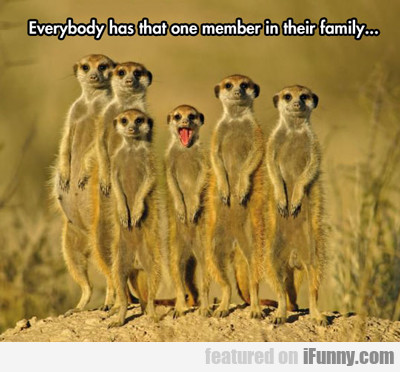 Everybody Has That One Member In Their Family...