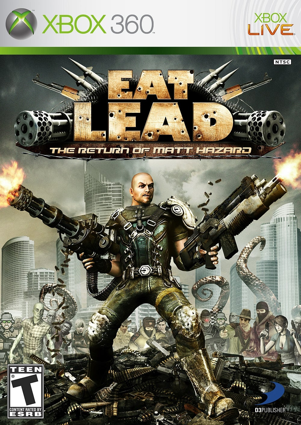 Eat Lead The Return Of Matt Hazard Xbox 360 IGN
