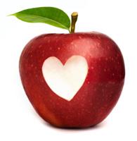 Apple & Heart