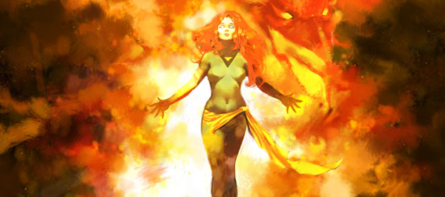 X-Men's Jean Grey as the Phoenix - Marvel Comics