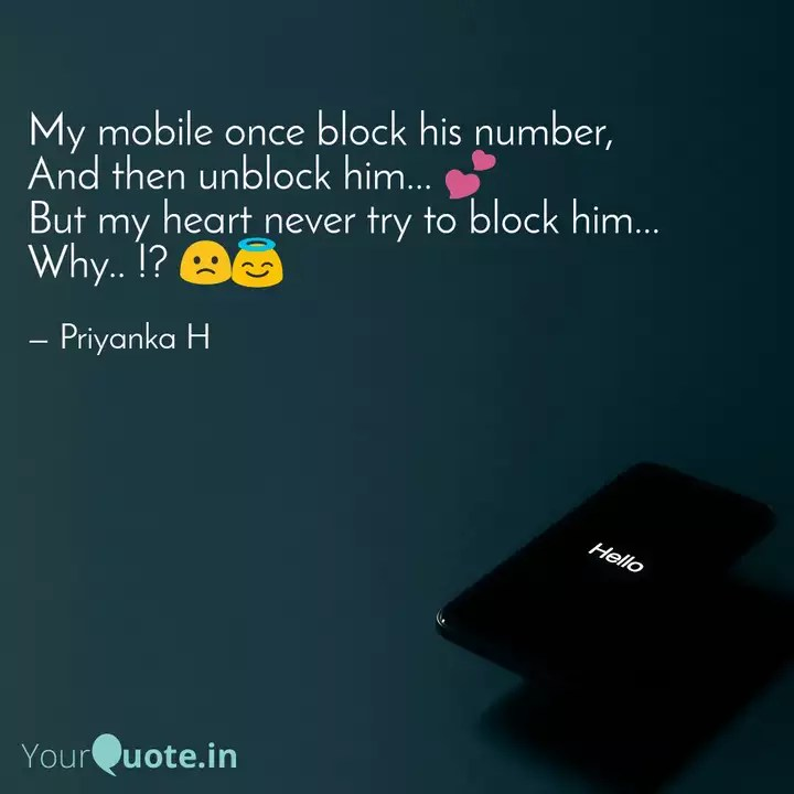 37+ Block His Number Quotes