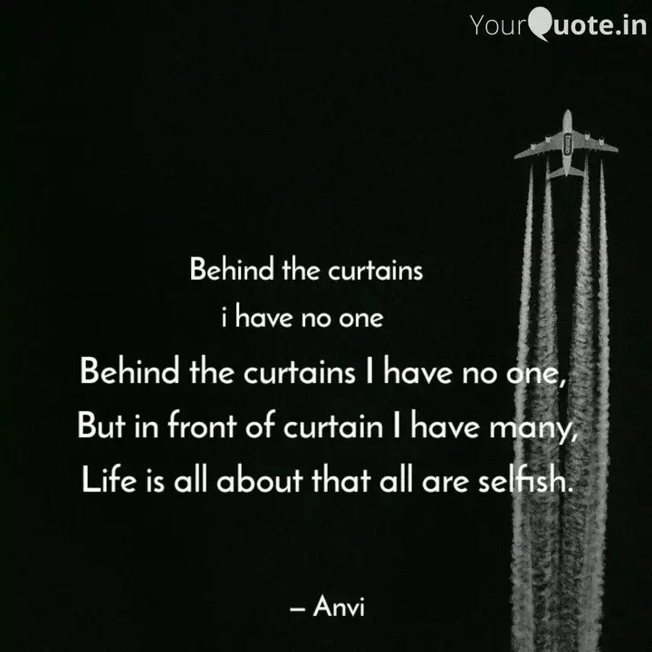 behind the curtains i hav quotes
