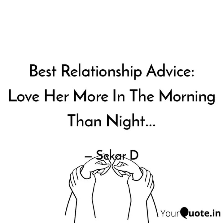 Best Relationship Advice Quotes
