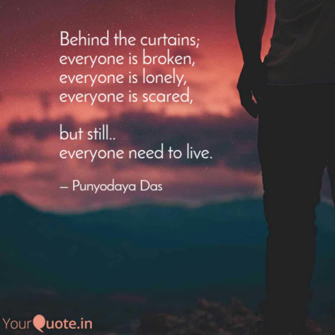 behind the curtains ever quotes