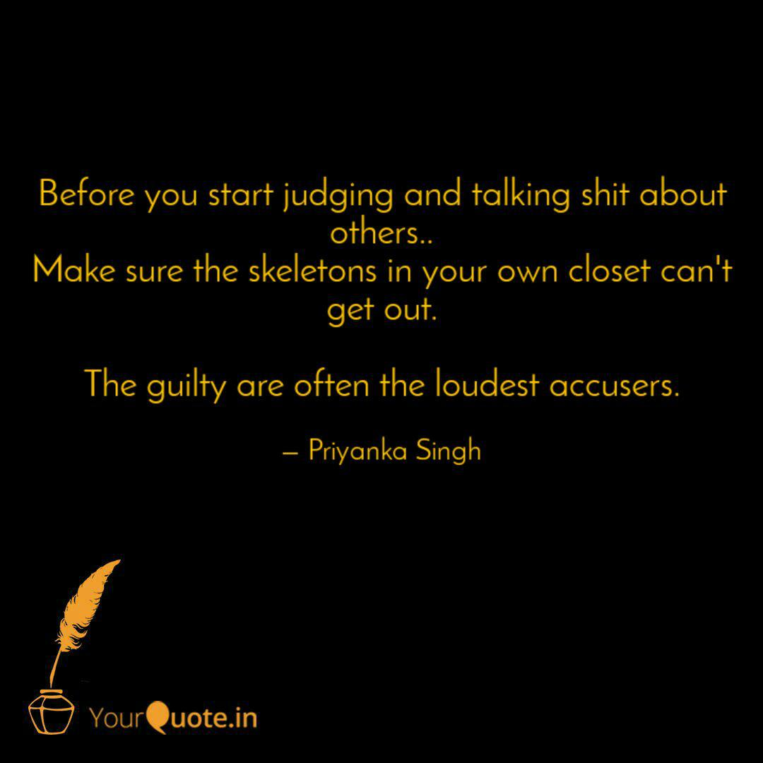 Before You Start Judging Quotes Writings By Priyanka