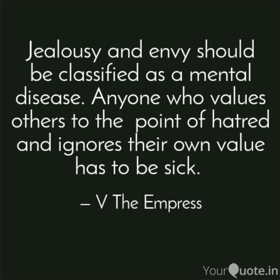 18 Jealousy Vs Envy Quotes
