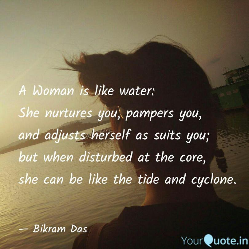 Image result for women is like water, wind
