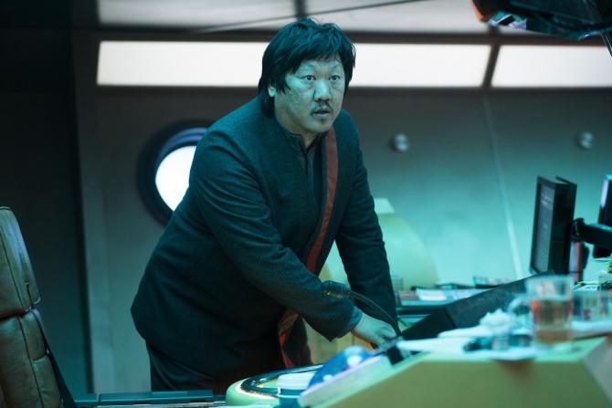 Bennedict Wong in The Impossible Planet, the second episode of Electric Dreams. (c) Channel 4