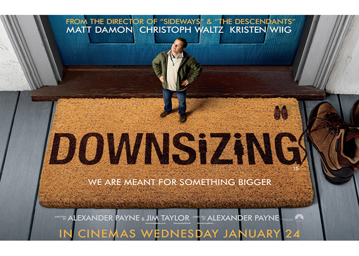 Image result for downsizing uk poster