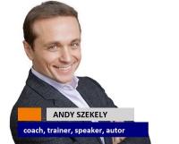 Andy Szekely: prin cursurile de dezvoltare, nu fac informare, ci ofer transformare