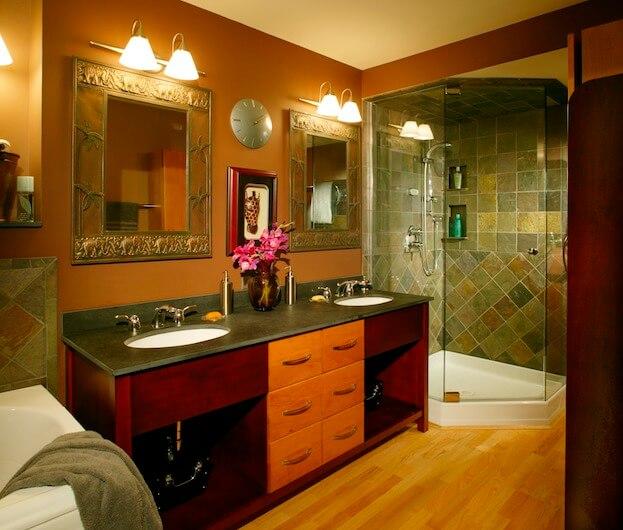 Warm Bathroom Colors