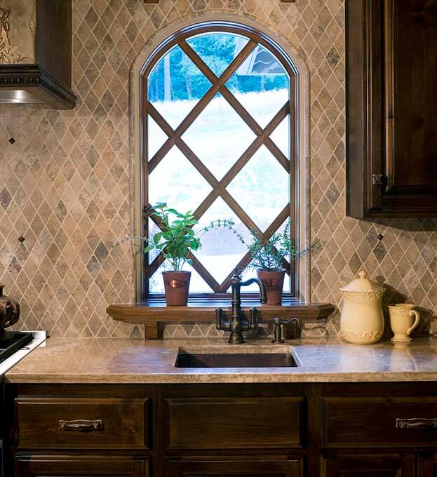 High Backsplash