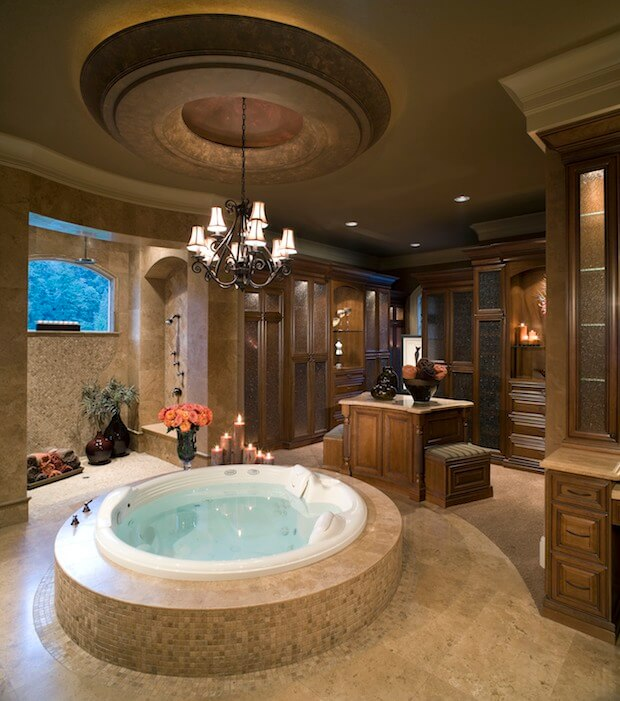 8 Luxury Master Bathrooms Every Couple Dreams Of