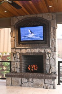 Mounting A TV Over A Fireplace | How To Mount TV On Wall