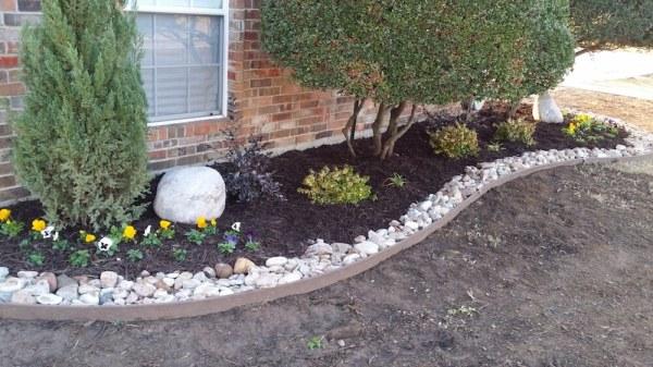 2017 landscaping rock