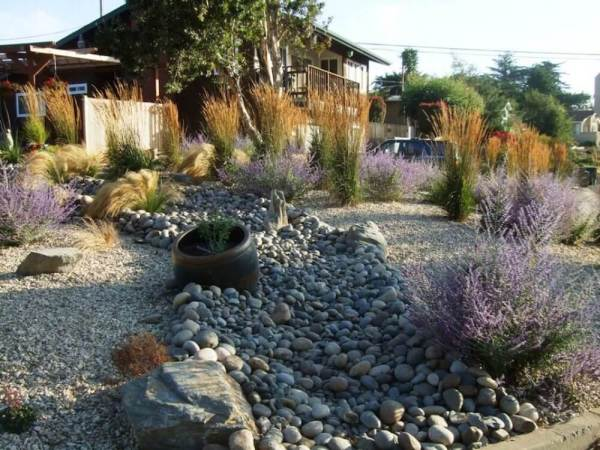 2017 river rock landscaping